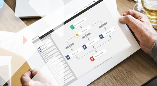 Nintex workflow for SharePoint ayuda automatizar los flujos de trabajo ofreciendo una conectividad y funciones avanzadas.