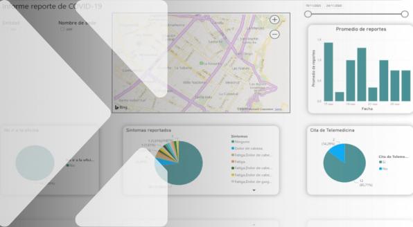 Power BI es una solución de análisis empresarial que permite visualizar los datos y compartir información con toda la organización.