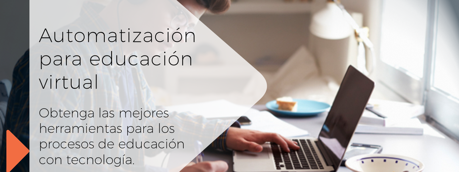 Automatización para educación virtual